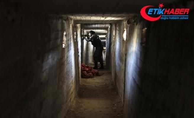 Teröristlere ait tünel ve mevziler kullanılamaz hale getiriliyor