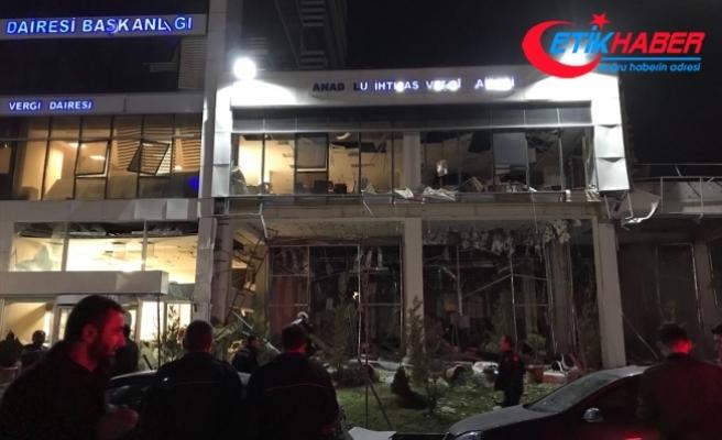 Ankara'da doğalgaz sıkışması nedeniyle patlama
