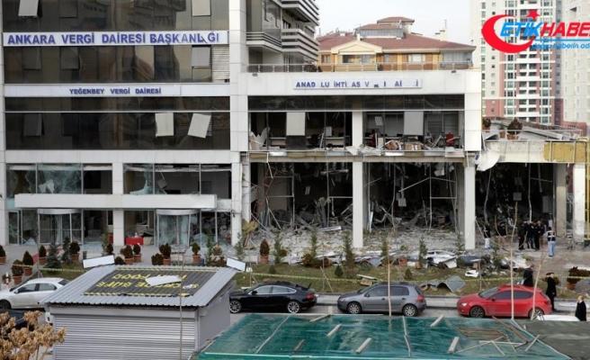 Başkentte Vergi Dairesi Başkanlığındaki patlamada gözaltına alınanların sayısı 19'a yükseldi