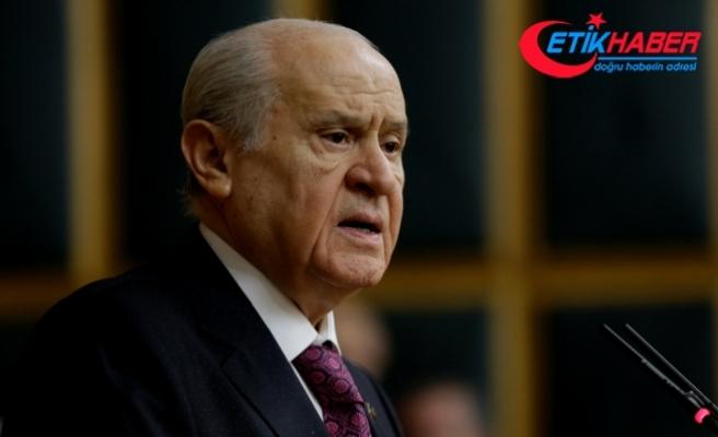 MHP Lideri Bahçeli: MHP toplaşılan tarla değildir, Türk milletinin şeref sembolüdür