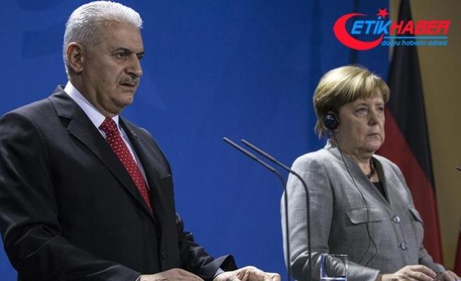 Başbakan Yıldırım: Türkiye-Almanya ilişkilerinde hassasiyetimiz belli