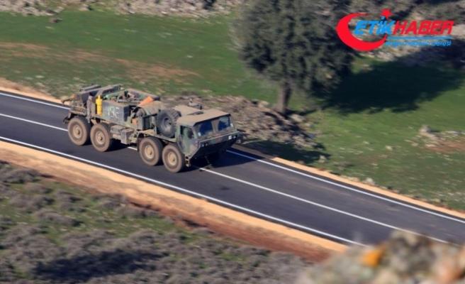 TSK ve ÖSO, Afrin'in Divan Fevkani köyü ve 3 tepeyi PYD/PKK'dan temizledi