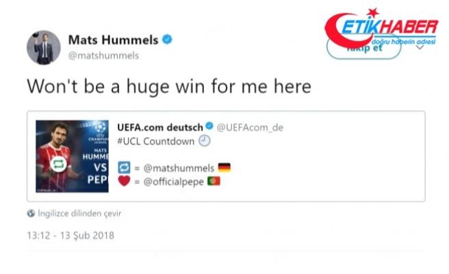 Bayern Münihli Hummels, Beşiktaş'ı Küçümseyince Taraftarın Hışmına Uğradı
