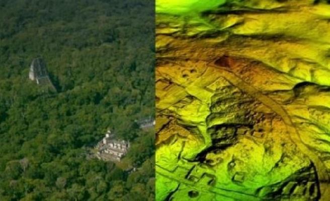 Bilim insanları Guatemala ormanı altında gizlenmiş antik Maya kenti keşfetti