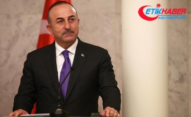 Çavuşoğlu: İsrail makamlarının ve savunmasız insanlara silah doğrultan İsrail askerlerinin hesap vermelerini sağlamalıyız