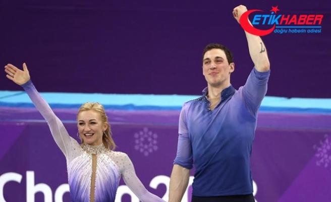 Çiftler artistik buz pateninde Almanya'dan 2 altın madalya