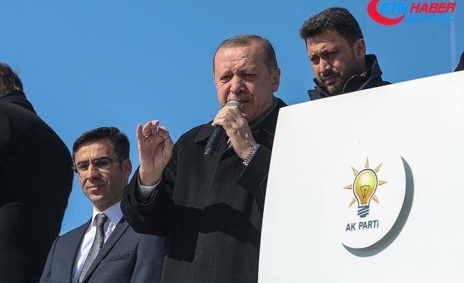 Cumhurbaşkanı Erdoğan: Afrin'e doğru ilerliyoruz, az kaldı