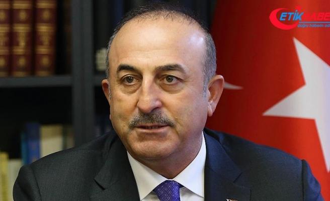 Dışişleri Bakanı Çavuşoğlu: ABD'nin PYD/YPG'ye verdiği destek ortaklığımızı zehirliyor