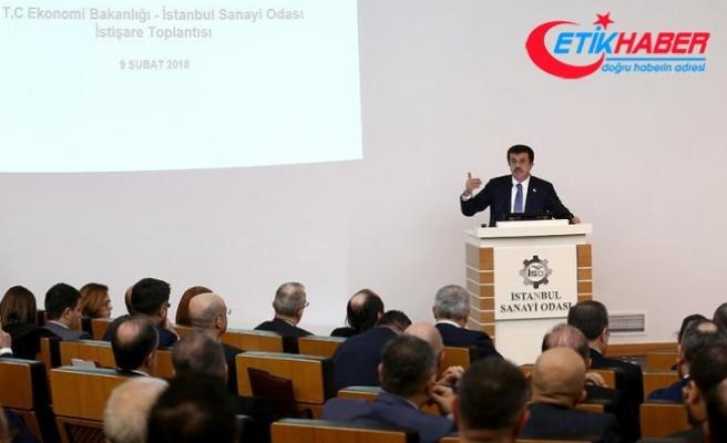 Ekonomi Bakanı Zeybekci sanayicilerle bir araya geldi