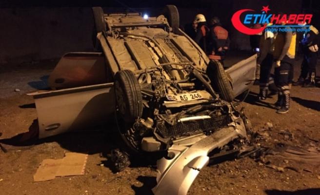 Elazığ'da trafik kazası: 2 ölü, 2 yaralı