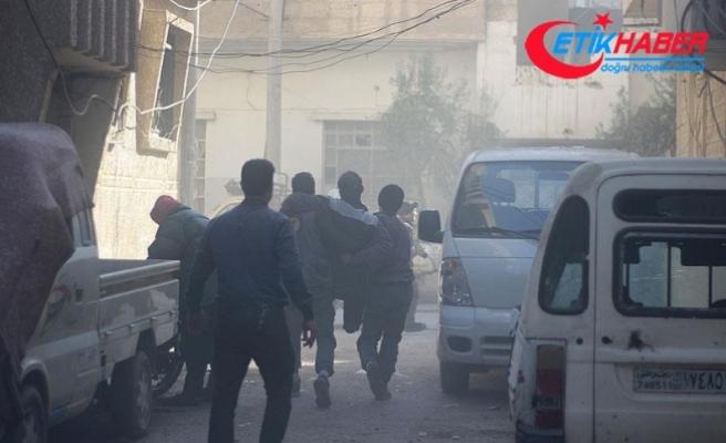 Esed rejimi Doğu Guta'yı klor gazıyla vurdu