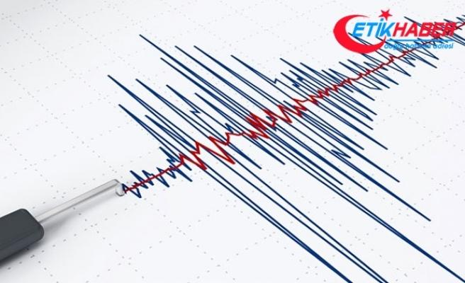 Düzce'de art arda depremler