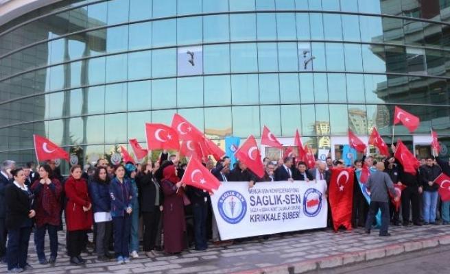 Kırıkkale Sağlık-Sen'den Türk Tabipleri Birliği'ne tepki