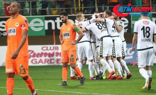 Konyaspor deplasmandan 3 puanla ayrıldı