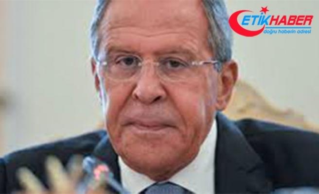 Lavrov: ABD, Rusya'yı kısıtlayarak Avrupa'da ekonomik çıkarlarını öne sürmeye çalışıyor