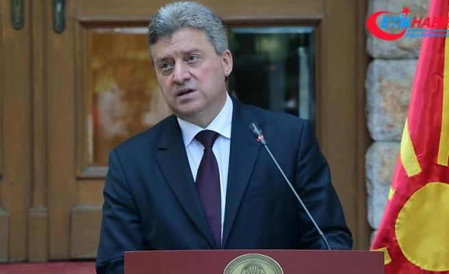 Makedonya Cumhurbaşkanı İvanov, Türkiye'ye gelecek