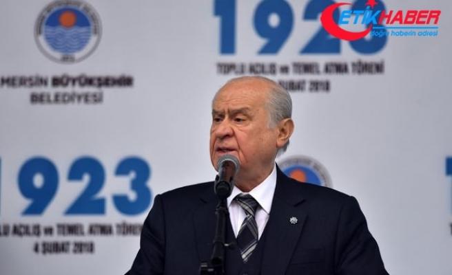 MHP Lideri Bahçeli: ''Sefer bizim zafer Allah'ındır, hedef ise Kızılelma'dır.''