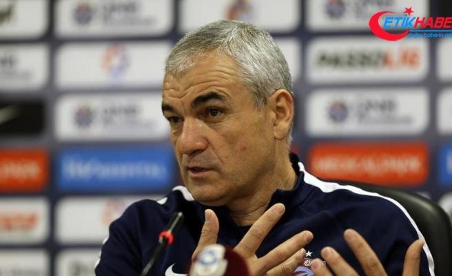 Trabzonspor Teknik Direktörü Çalımbay: Devre arasından beri gol sıkıntısı yaşıyoruz