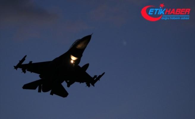 TSK'den Irak'ın kuzeyine hava harekatı: 16 hedef imha edildi