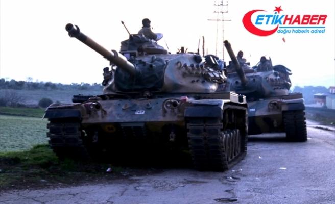 TSK ve ÖSO, Afrin'in Harab Summak köyünü PYD/PKK'dan kurtardı