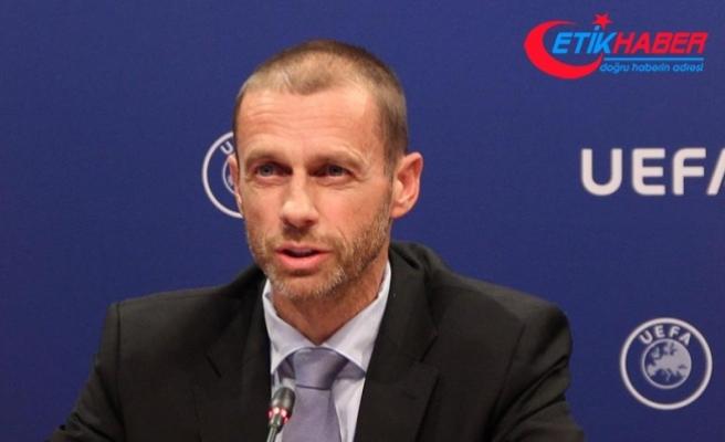 UEFA Başkanı Ceferin'den Türk kulüplerine borç uyarısı