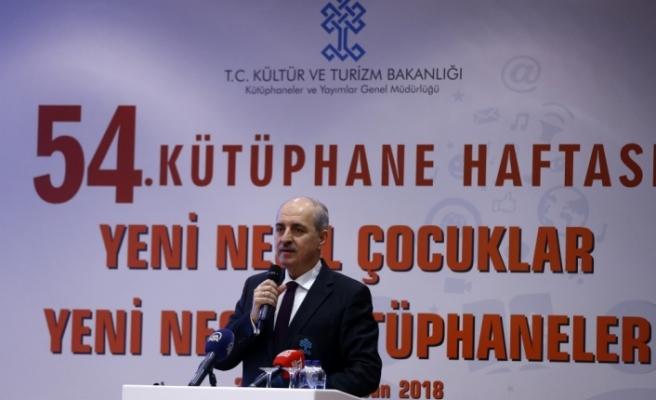 Kültür ve Turizm Bakanı Kurtulmuş: Kütüphaneler gece de açık olacak