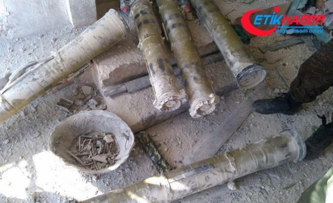 Afrin'de güdümlü tanksavar silahları ele geçirildi