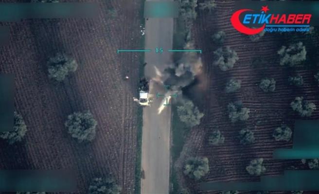 Afrin'de sivillere tuzak kuran terörist yakalandı