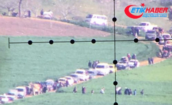 Afrin'deki siviller ayrılıyor