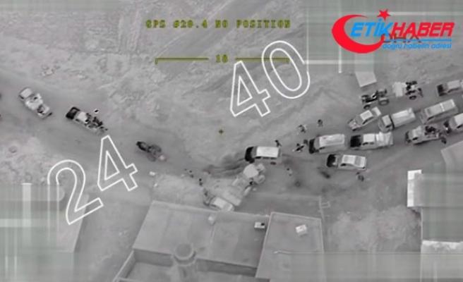 Afrin'de halk terör örgütünün engellerini kazma-kürekle ve elleriyle aşıyor