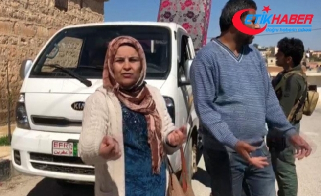 Afrinli siviller PKK'nın yalanlarını anlattı