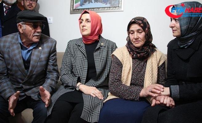 Aile ve Sosyal Politikalar Bakanı Kaya: Şehitlerimizin emanetleri başımızın tacıdır