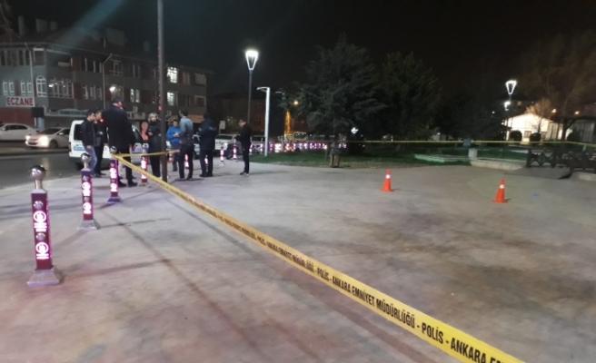 Ankara'da parktaki vatandaşlara silahlı saldırı: 2 yaralı