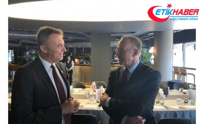 Beşiktaş'tan Bayern Münih ve UEFA heyetine dostluk yemeği