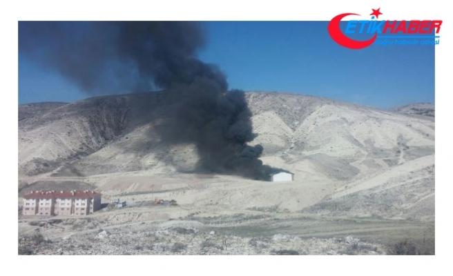 Beypazarı'da tüp depolarında patlama