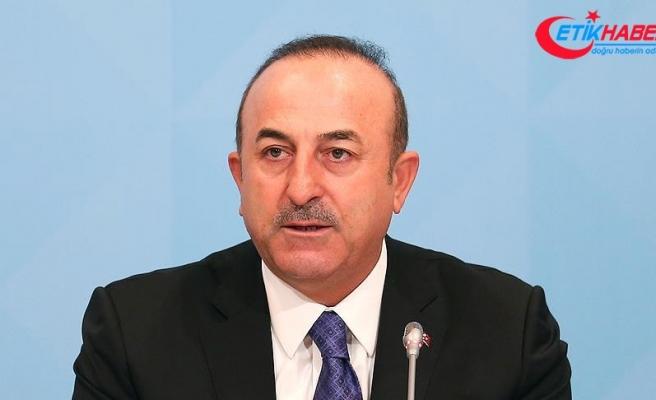 Dışişleri Bakanı Çavuşoğlu: Amerikalılar'la Münbiç ve Fırat'ın doğusundaki kentlerin istikrara kavuşturulması yönünde mutabık kaldık