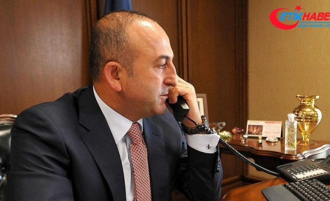 Çavuşoğlu, Fransız mevkidaşı ile telefonda görüştü
