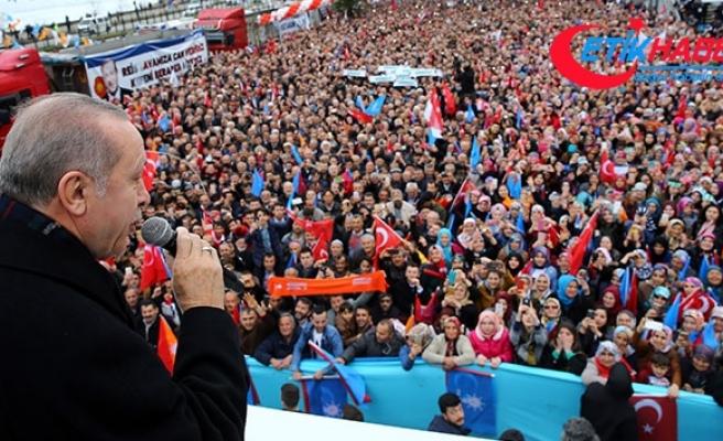 Cumhurbaşkanı Erdoğan: 'Bu millete ihanet edeni affetmeyiz'