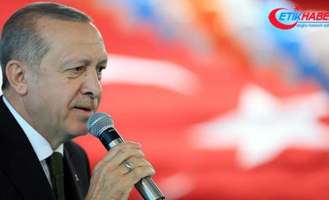Cumhurbaşkanı Erdoğan: Enflasyonun anası da babası da faizdir