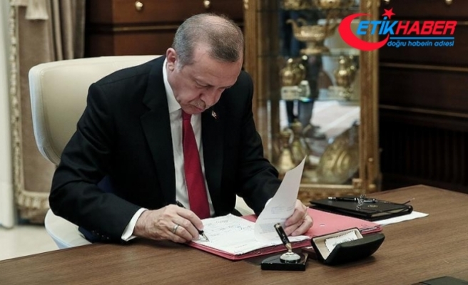 Cumhurbaşkanı Erdoğan ittifak yasasını onayladı