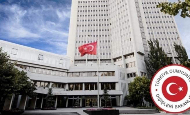 Dışişleri Bakanlığından BM raporuna tepki
