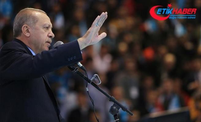 Erdoğan: 3740 terörist etkisiz hale getirildi