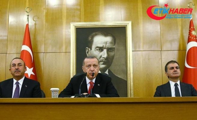 Cumhurbaşkanı Erdoğan: Sincar'a çok fazla tahammülümüz yok