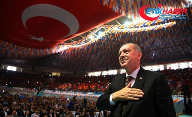 Erdoğan: Bölücü terör örgütü Kürt kardeşlerime artık çektiremeyecek