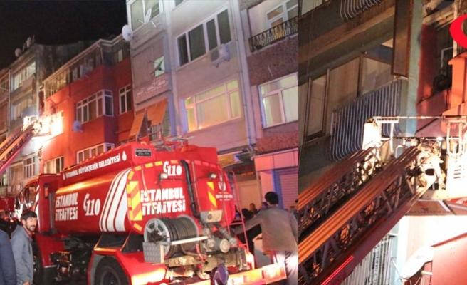 Fatih'te yangın: 4 yaralı