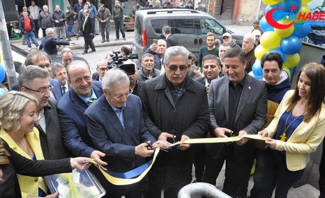 Fenerbahçe Kulübü Başkanı Yıldırım, Fenerbahçe Ereğli kulüp şubesini açtı