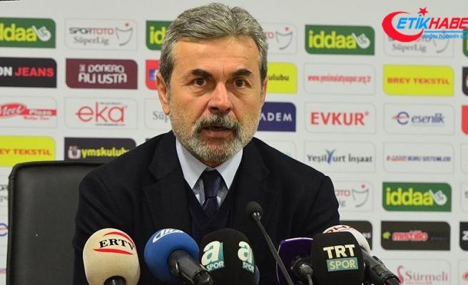 Fenerbahçe Teknik Direktörü Kocaman: Üst gruptan kopmamak adına önemli bir galibiyet aldık