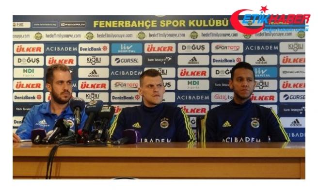 Fenerbahçeli Josef ile Skrtel, Galatasaray derbisini kazanmak istiyorlar