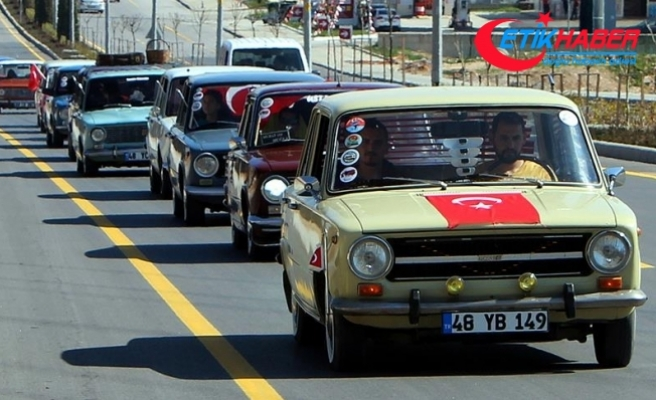 'Hacı Murat'lardan Mehmetçiğe destek konvoyu