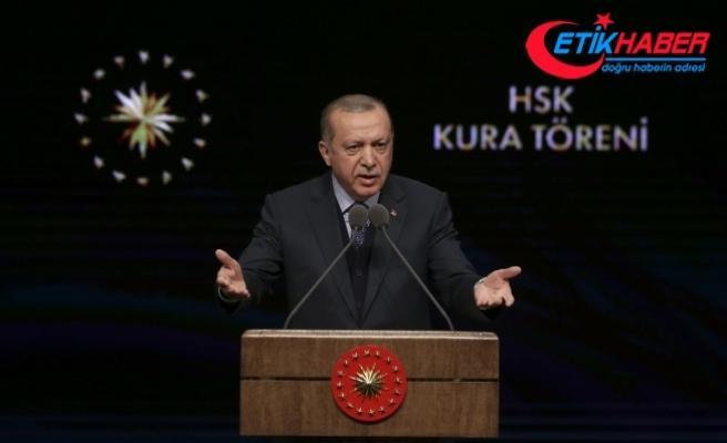 Cumhurbaşkanı Erdoğan: Şu an itibarıyla 3622 terörist etkisiz hale getirilmiş vaziyette